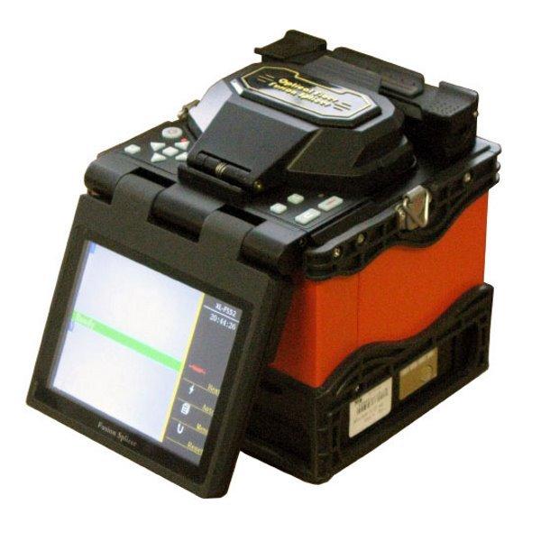 """Svářečka opt. vláken, automatická, 5""""TFT,včetně lámačky a světelného lokátoru,Li-Ion, FTTH,Splice-on"""