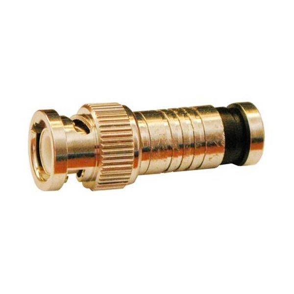 Konektor BNC/M na RG6, kompresní, 75 Ohm