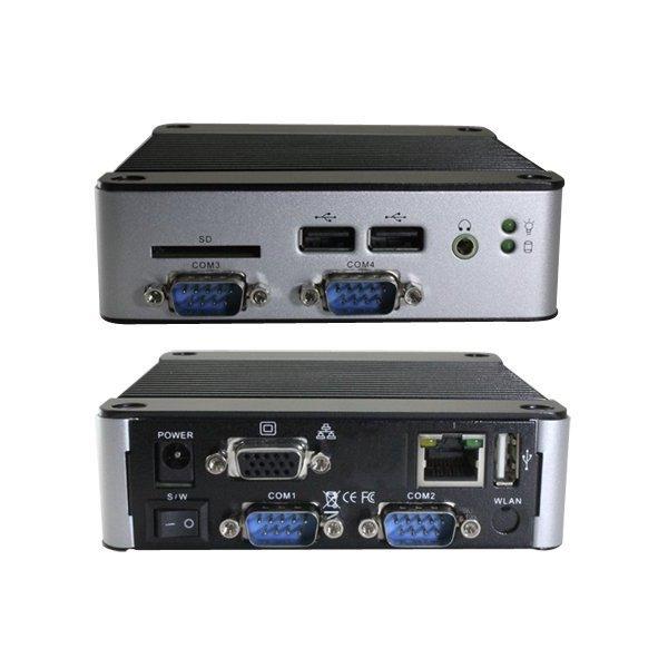 miniPC Vortex86DX3/1GHz (2-core), 2GB DDR3, VGA, 1x SD slot, 1x mPCIe, 3x USB,2x COM, 2x GPIO,1x LAN