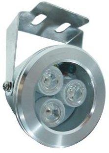 Infra osvětlení, 850nm, 15m, venkovní, úhel 60 st, 8W,  PoE 802.3af, RJ45 vodotěsná spojka