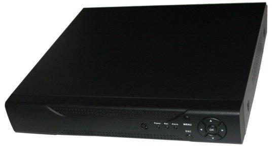 DVR 5in1, 8x AHD/CVI/TVI/PAL, 2Mpix@12fps, 8x IP, 4xAudio, 1xSATA, HDMI+VGA, CZ