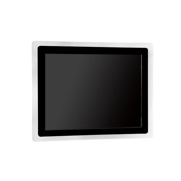 """15"""" TFT touch monitor, VGA a HDMI, PCAP, VESA75/100, krytí IP65 přední panel"""