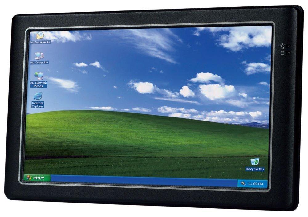"9"" touch panelPC, Vortex 800MHz x86DX2, 2GB RAM,2x USB,1xLAN,1xCOM, audio, slot uSD a CF, 8V-35V"