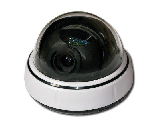 """4in1 dome kamera, 2Mpix, 1/2,9"""", 0.1lux, ICR 2,8-12mm, UTC, bílá"""