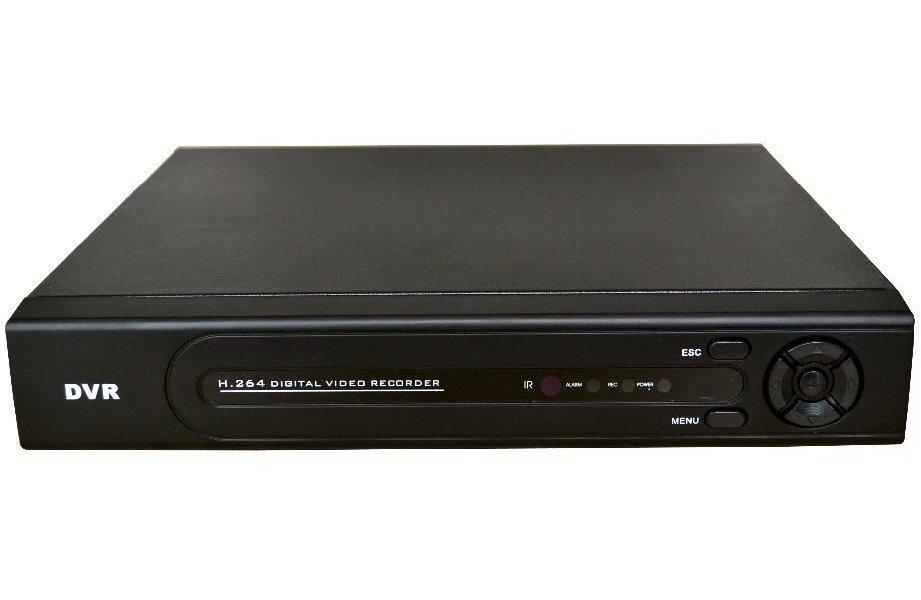 DVR 4x AHD/PAL, max. 1Mpix@12fps, 4xAudio, 1xSATA, LAN, HDMI+VGA, CZ