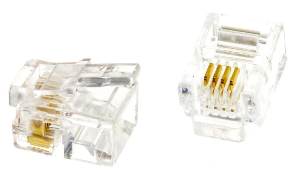 Konektor tel. RJ11 6p4c