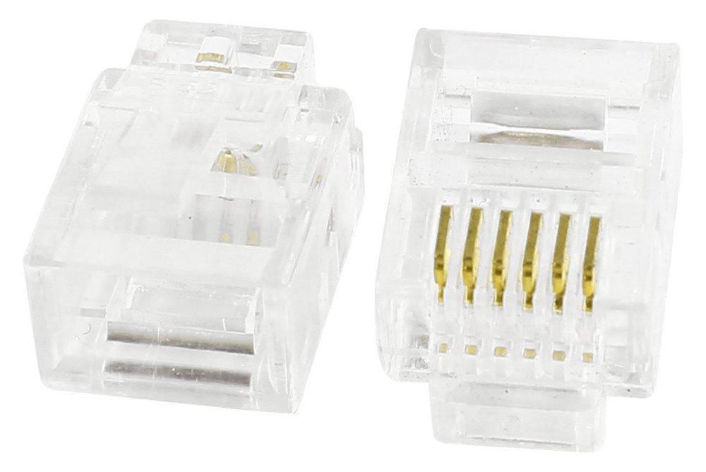 Konektor tel. RJ12 6p6c