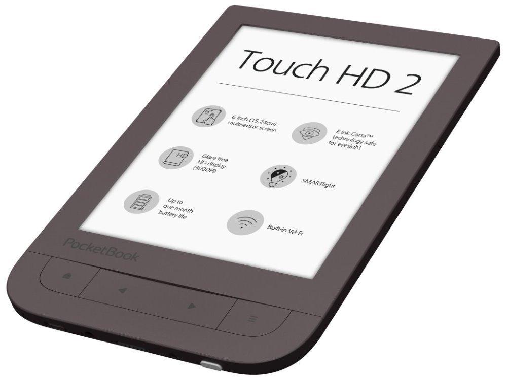 Čtečka elektronických knih PocketBook Touch HD 2