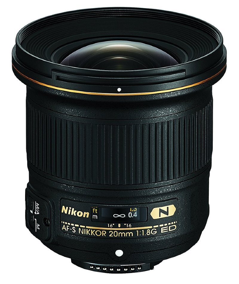 Objektiv Nikon AF-S NIKKOR 20mm f/1.8G ED