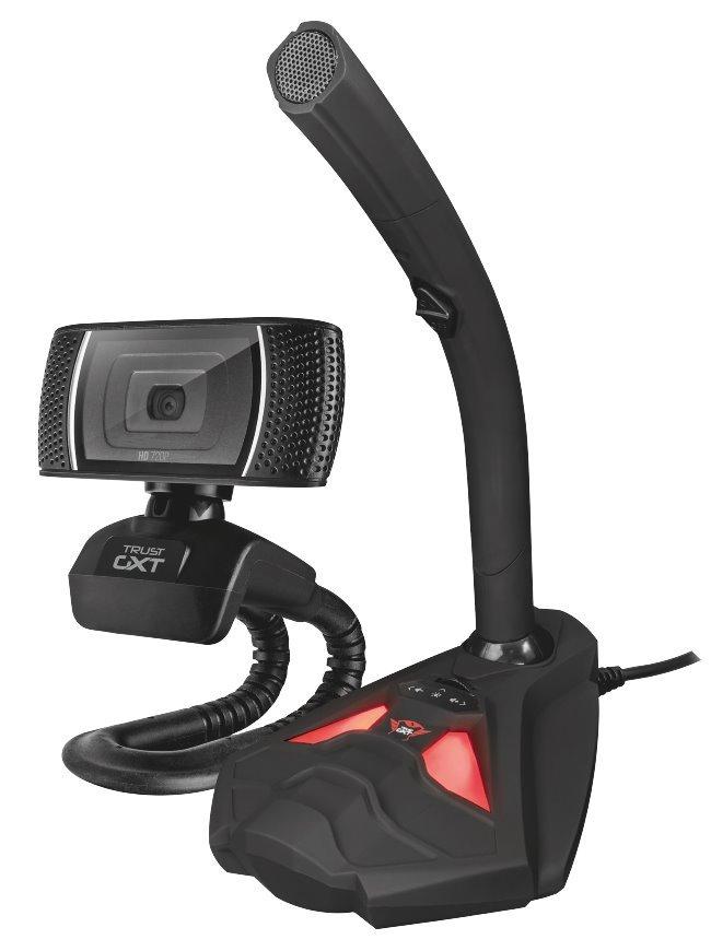 Set webkamery a mikrofonu Trust GTX 786 Reyno