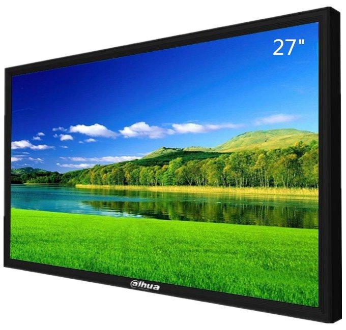 """27"""" Full-HD průmyslový LCD panel, 1x HDMI+1x VGA, 1920x1080, LED podsvícení, provoz 24/7"""