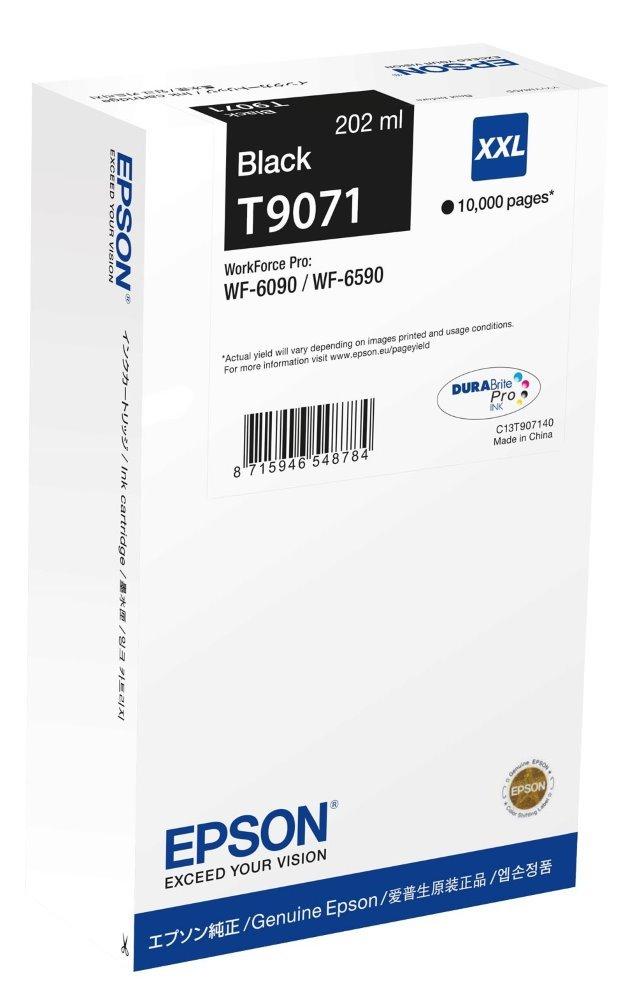 Inkoustová náplň Epson C13T907140 černá