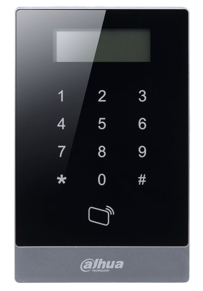 Autonomní dotyková kódová klávesnice s RFID čtečkou - 13,56MHz, IP55, TCP/IP