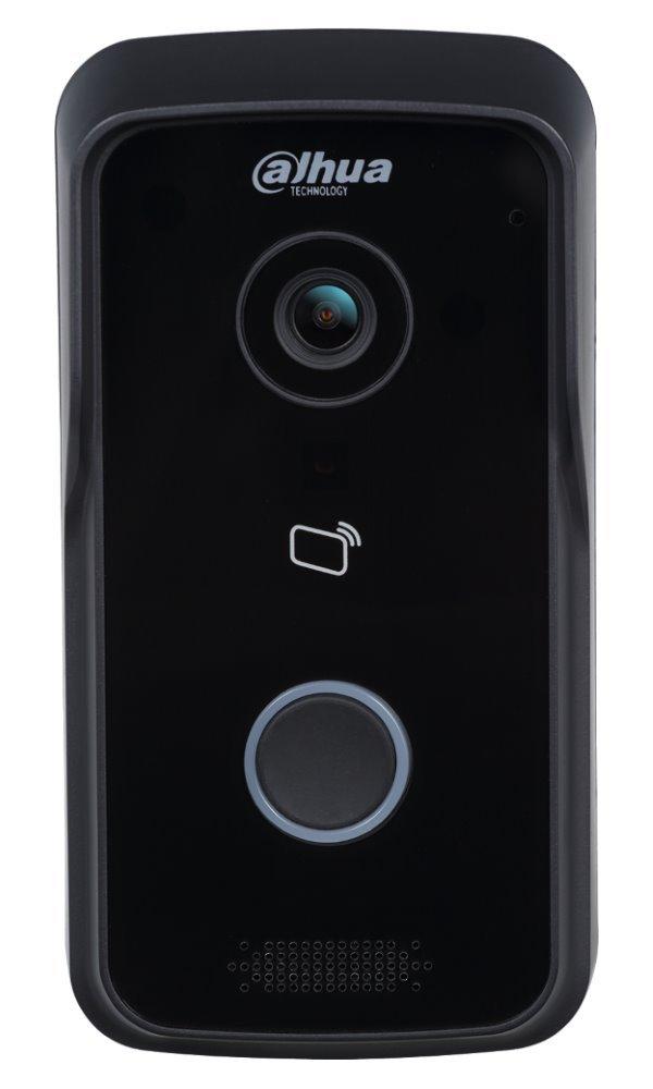 IP dveřní stanice, 1x zvonek, CMOS 1Mpx 1/4, TCP/IP, wifi, CZ, 802.3 af, IP65, ID, povrch. montáž