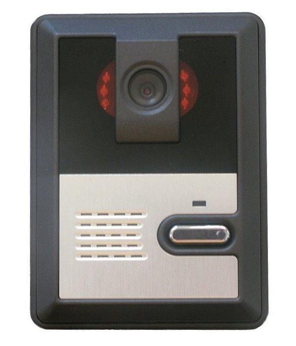 Bezdrátová dveřní stanice, CMOS kamera, IP44, FHSS 2,4GHz
