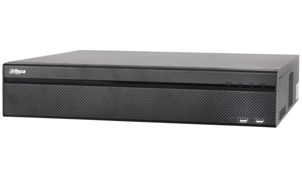DAHUA NVR Profi 64xIP/ 12Mpix/ 320Mbps/ H.265+/ 8xHDD RAID/ 2x 4K-HDMI/ 2xLAN/ analytiky/ SPZ/ POS/ dewarp