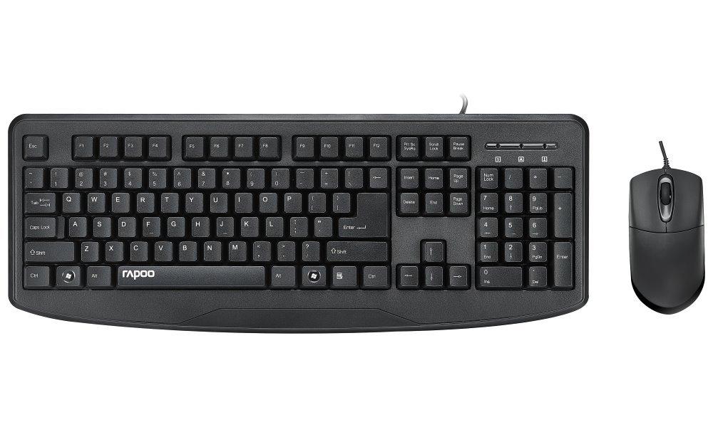 Set klávesnice a myši Rapoo NX1720