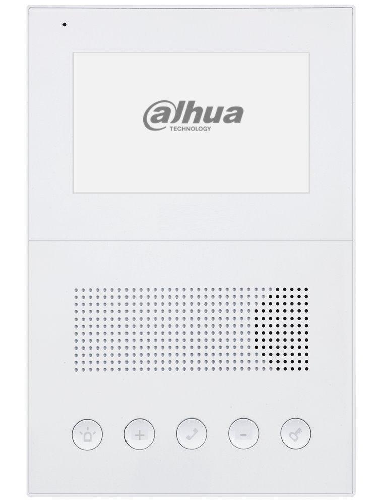 Bytový audio telefon IP, handsfree, pasivní PoE, bílý