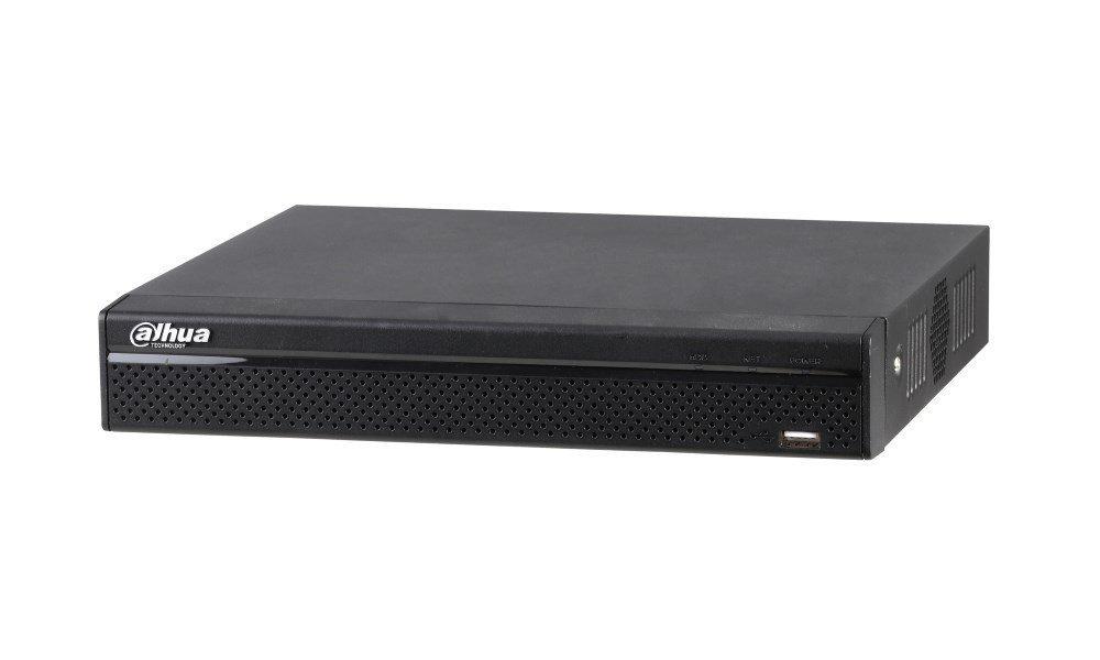 DVR 8x HDCVI/AHD/TVI/CVBS až (4K) 8Mpix/7fps + 4x IP do 8Mpix, H264+, 1x SATA, HDMI(4K)+VGA, 8x PoC