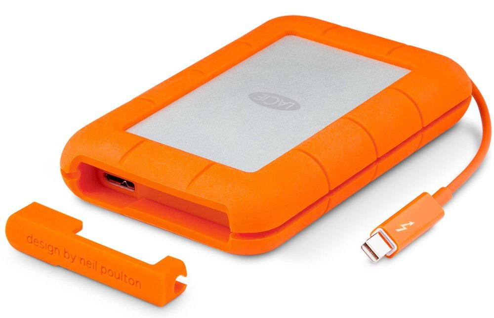Pevný disk LaCie Rugged RAID 4TB