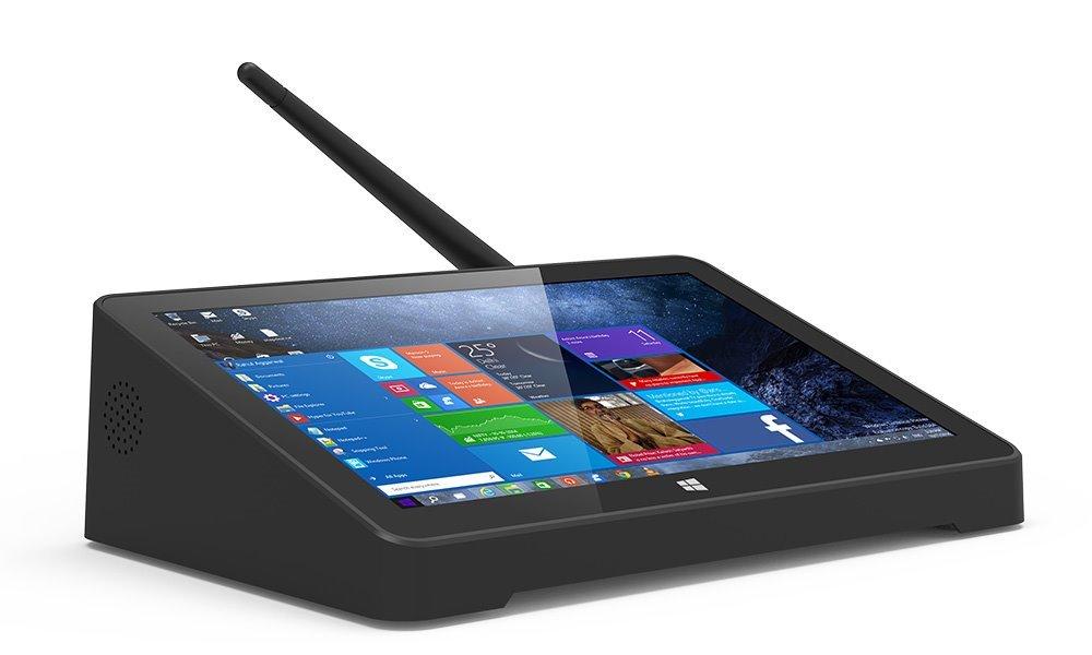 """7"""" touch desktop PC, TFT, Intel Z8350 4x1,4GHz, LAN, HDMI, 4xUSB, 2GB RAM, 32GB eMMC, fanless, Win Home"""