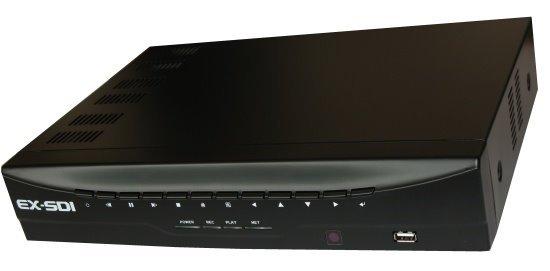 OPRAVENÉ - DVR 8x EX-SDI Full HD,4xAudio, 2xSATA, VGA+HDMI, RS485, 15fps/1080p/kanál, CZ