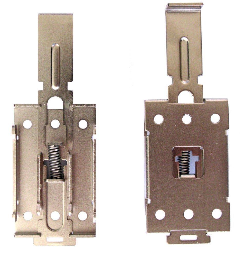 Montážní držák na DIN lištu pro Lexcom miniPC určených na DIN, snímatelný typ