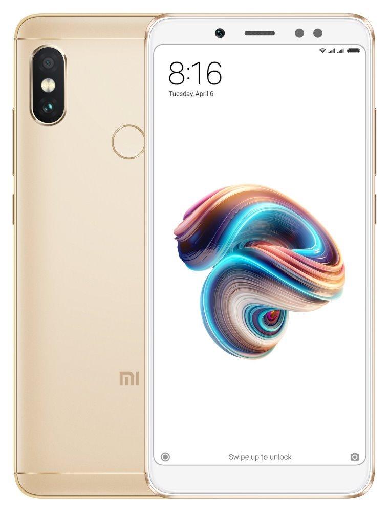 Mobilní telefon Xiaomi Redmi Note 5 zlatý