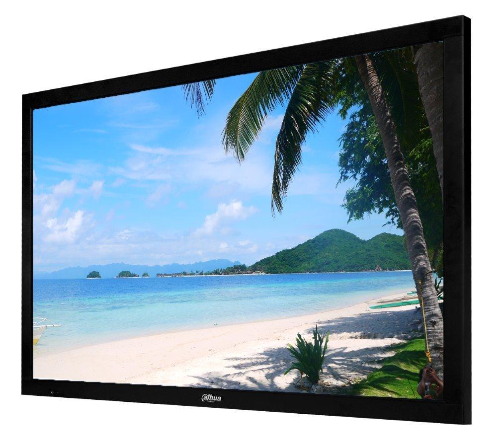 """49"""" Full-HD průmyslový LCD panel, 1xHDMI/1xDVI/1xVGA/2xCVBS, 1920x1080, LED podsvícení, provoz 24/7"""