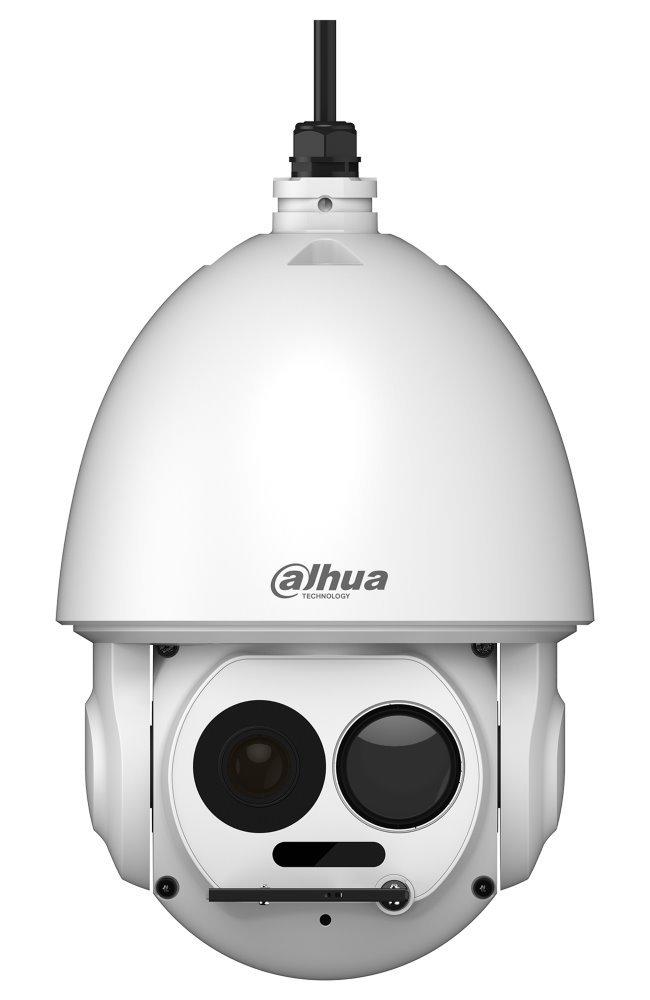 Dahua termální duální PTZ IP kamera, termo 400x300, f=25mm(15st), vizuál 2Mpix 30x zoom, IR150m, H.264, SD, IP66, IVS