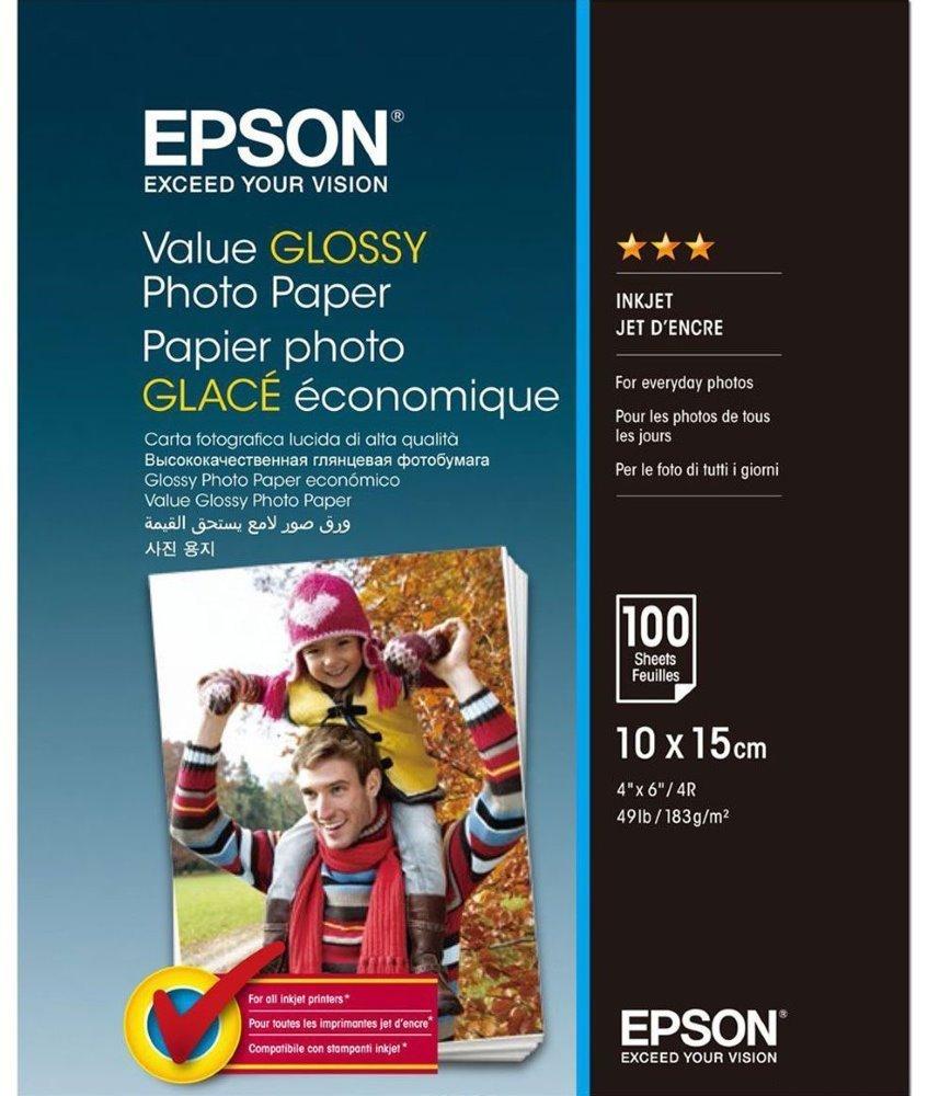 Fotopapír Epson Value Glossy 10x15 cm 100 ks