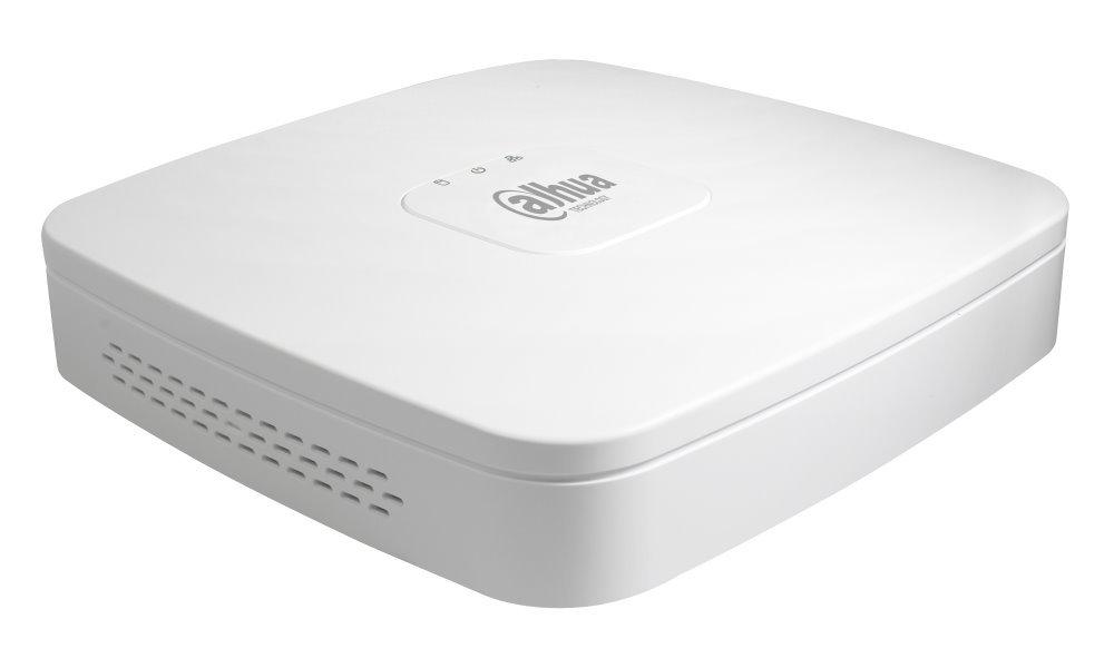 DAHUA NVR Lite 4xIP/ 8Mpix/ 80Mbps/ H.265/ 1xHDD/ 4K-HDMI/ 1xLAN/ fanless