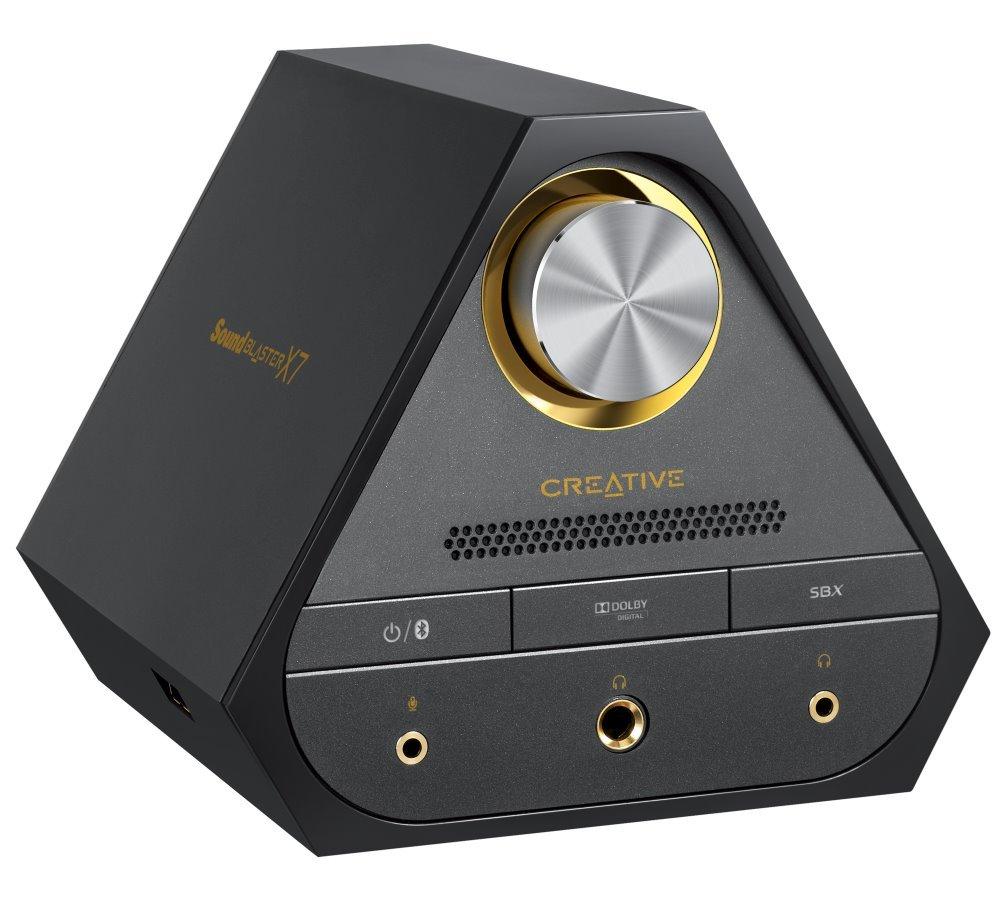 Zesilovač Creative Sound Blaster X7 černý