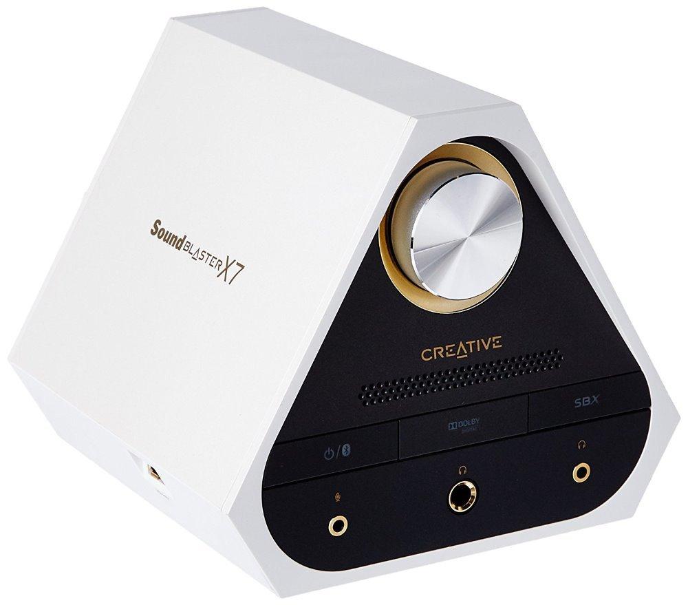 Zesilovač Creative Sound Blaster X7 bílý