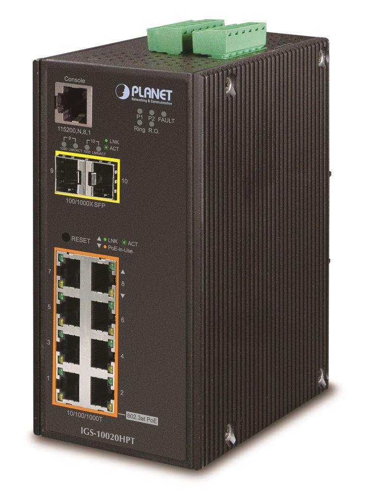 Switch PLANET IGS-10020HPTv3