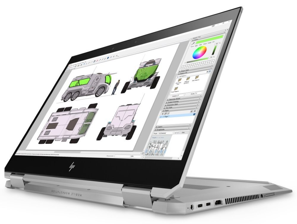 Notebook HP ZBook Studio x360 G5