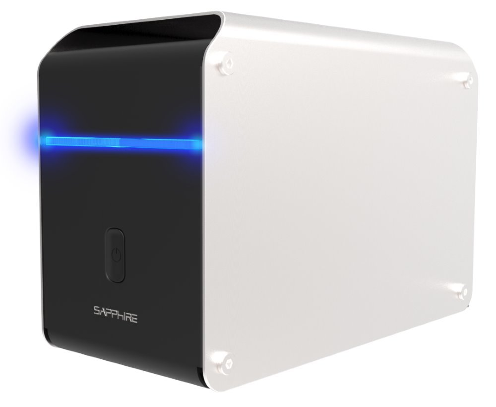 Externí GPU box Sapphire GearBox Thunderbolt 3
