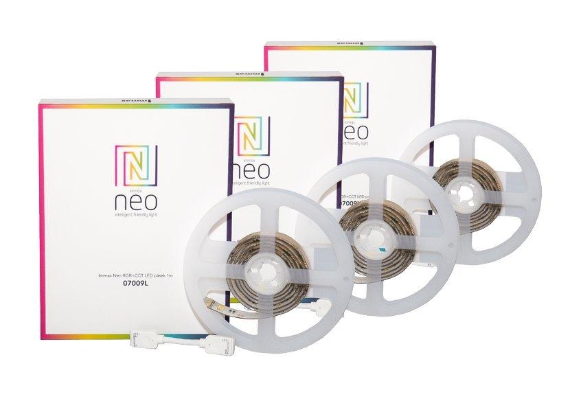 LED pásek IMMAX Neo RGB+CCT 1m 3ks