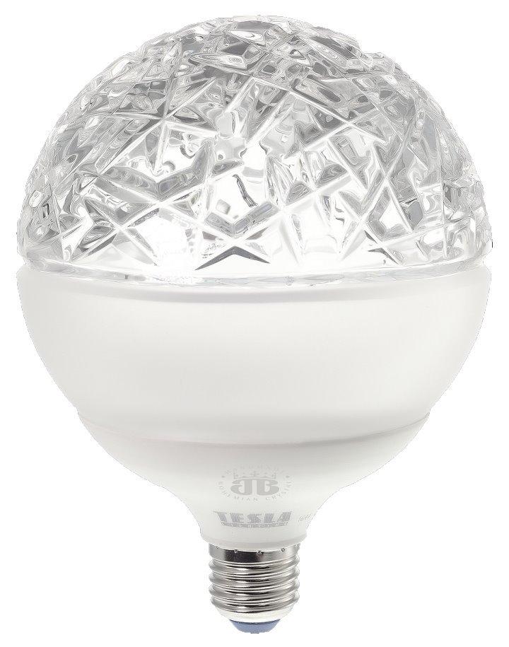 LED žárovka TESLA GLOBE E27 15W Aurorae Clear