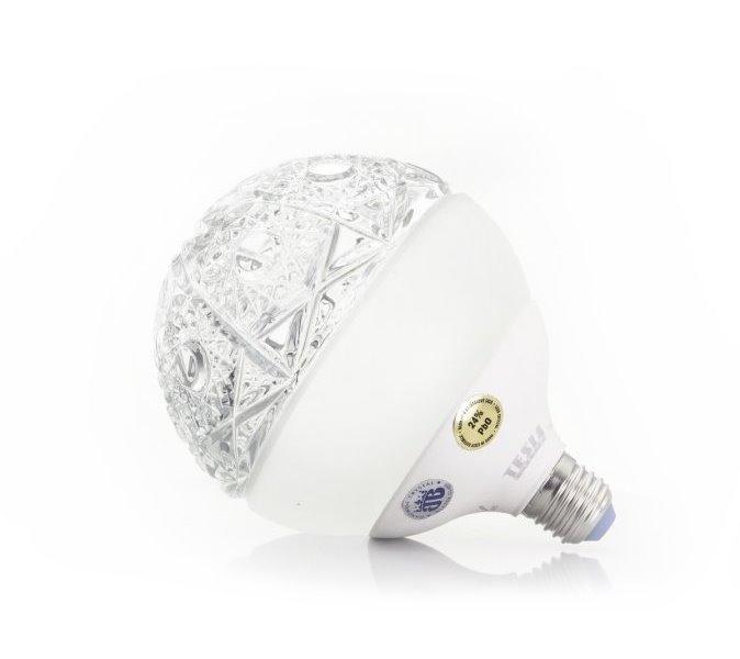 LED žárovka TESLA GLOBE E27 15W Stars Clear
