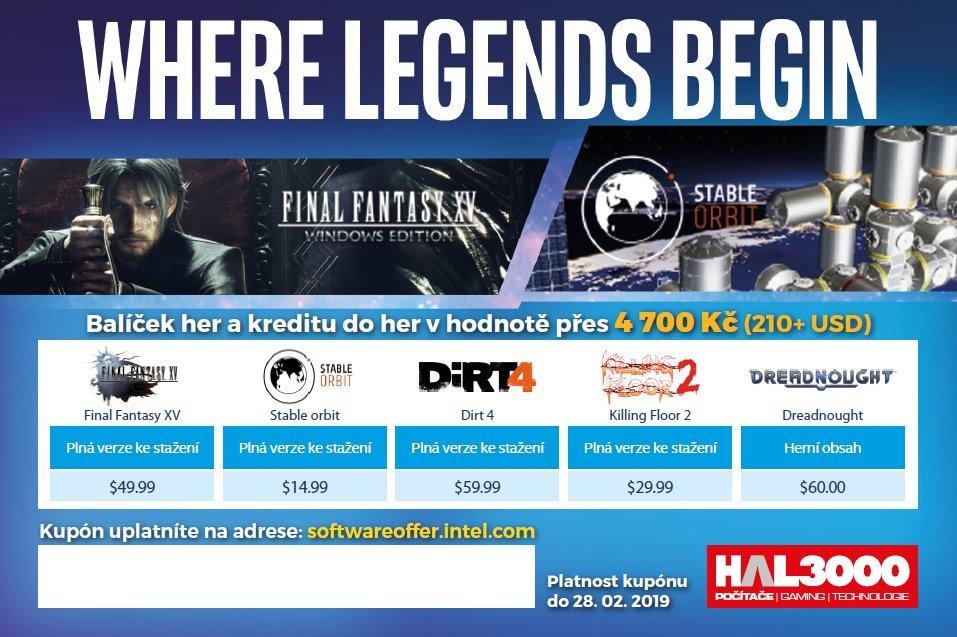Intel Gaming Bundle (Final Fantasy XV)