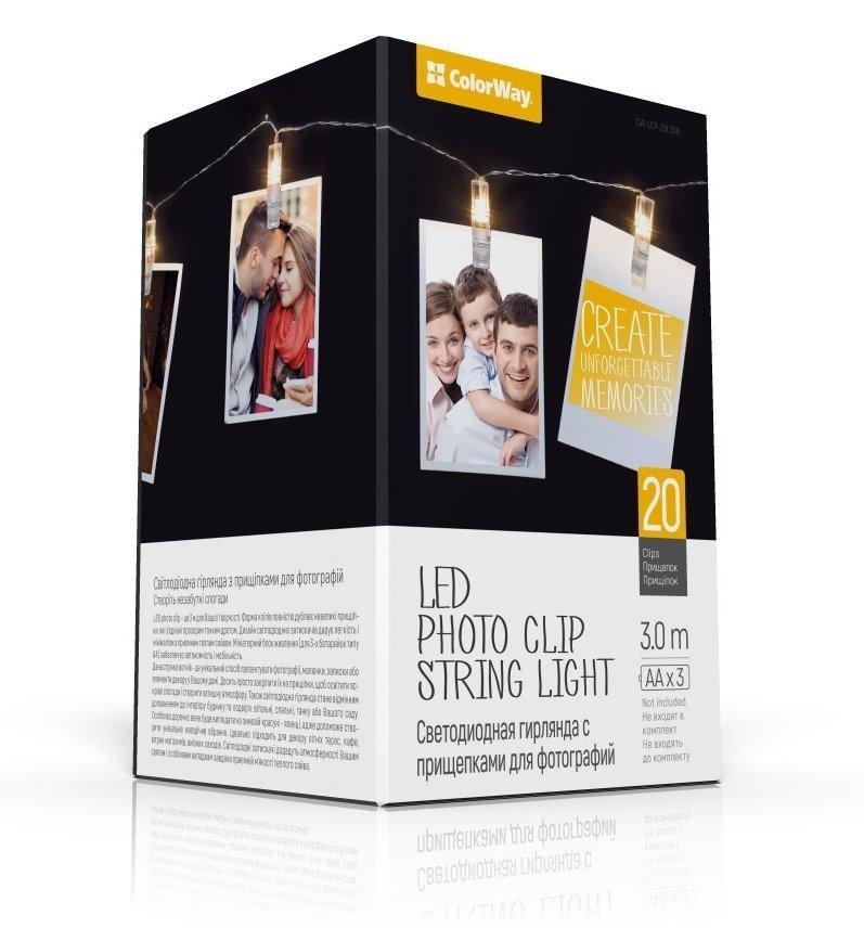 COLORWAY LED fotokolíčky