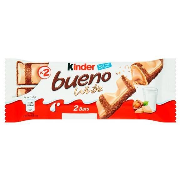 Tyčinka Kinder Bueno white