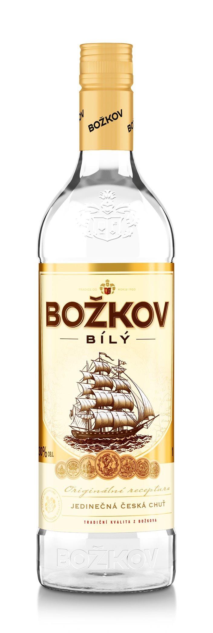 Rum Božkov bílý 500 ml - samostatně neprodejné