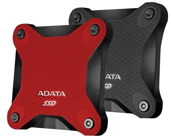 SSD disk ADATA SD600 256GB černý nebo červený