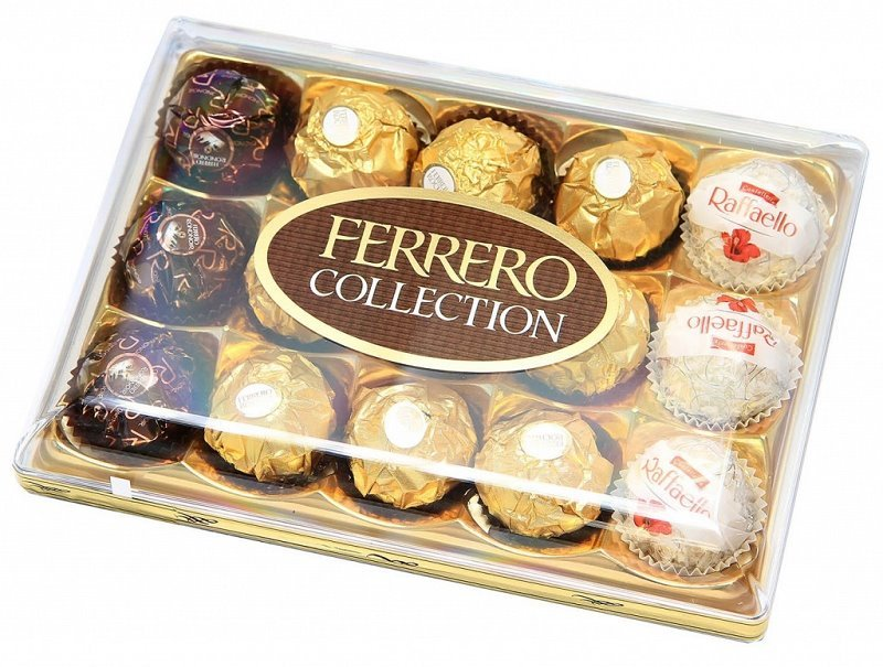 Bonboniéra Ferrero Collection