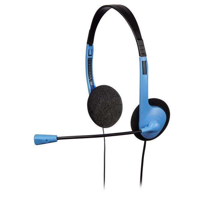 Headset Hama headset HS-101 černo-modrý