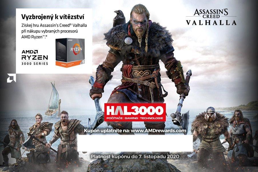 AMD kupón na hru Assassin's Creed Valhalla