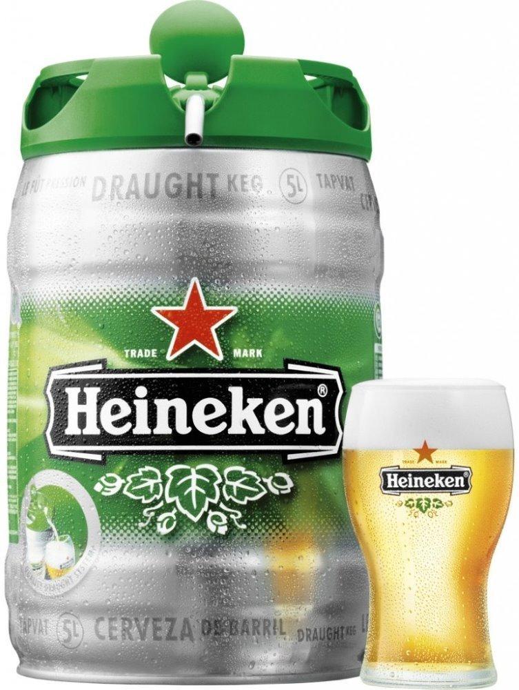 Pivo Heineken 5l - samostatně neprodejné