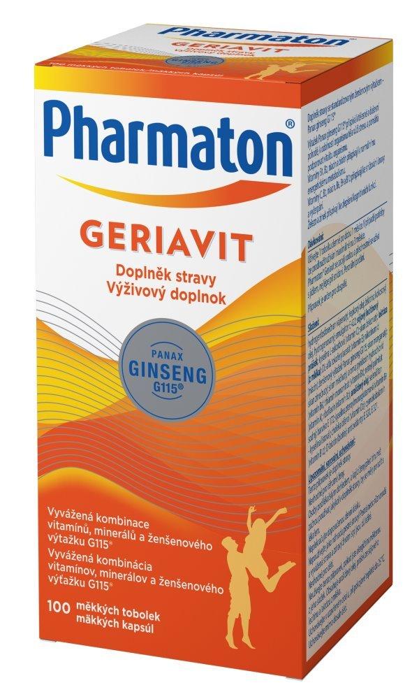 Multivitamín Pharmaton Geriavit